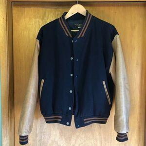 Brooks Brothers letterman's style jacket